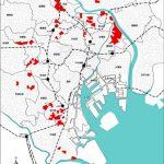 東京都の「地震時に著しく危険な密集市街地」